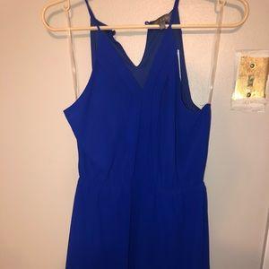 Blue Mini Dress (NWT)